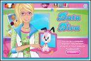 Барби и кубики разных цветов