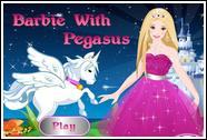 Барби и Пегас одевалка