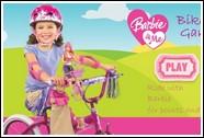 Велосипедистка Барби