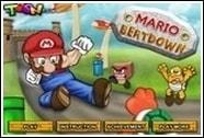 Марио дерётся с врагами