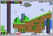 Марио на вертолете