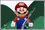 Марио стреляет